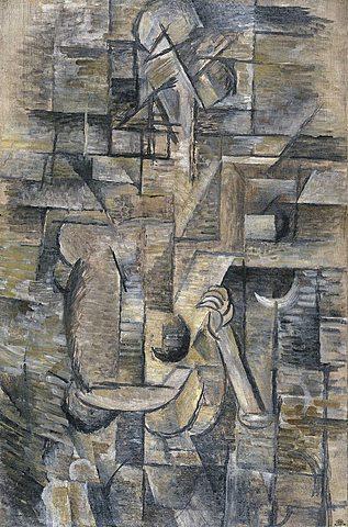 Mujer con mandolina | Georges Braque