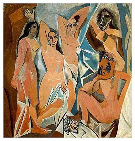Las señoritas de Avignon | Pablo Picasso