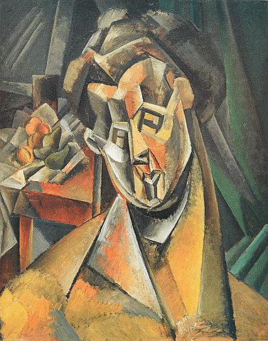 Mujer con peras | Pablo Picasso