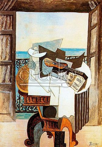 Mesa frente a la ventana | Pablo Picasso