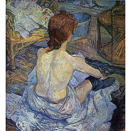 La Toilette | Toulouse-Lautrec
