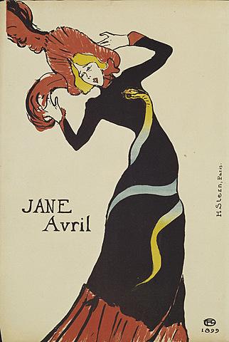 Jane Avril | Toulouse Lautrec