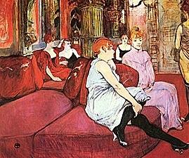 Salón de la Rue des Moulin | Toulouse Lautrec