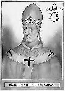 Θάνατος πάπα Ιωάννη Η' και Συνέπειες