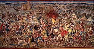 La batalla de Pavia