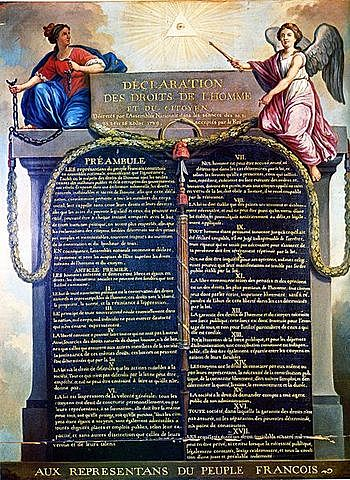 National Assembly Declaration of Rights of Man and the Citizens