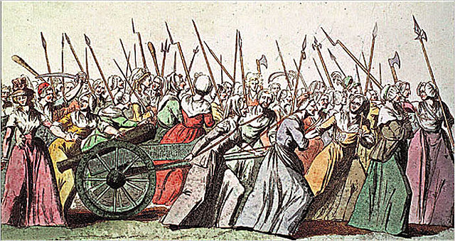 Women March for Bread to Versailles