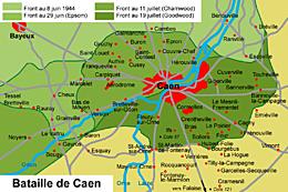 La bataille de Caen (1944)