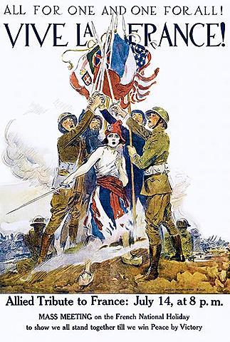 Start of WW1