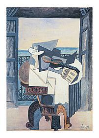 Mesa frente a la ventana -Picasso