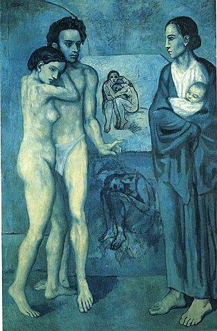 Epoca azul Picasso