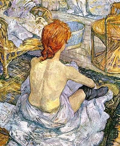 La toillete- Henri de Toulouse-Lautrec