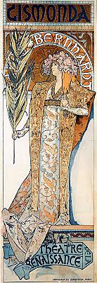 La Gismonda -Alphonse Mucha