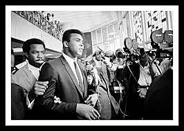 Muhammed Ali refuses military service