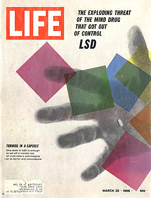 LSD declared illegal by the U.S. government