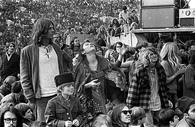Rolling Stones host the Altamont Music Festival