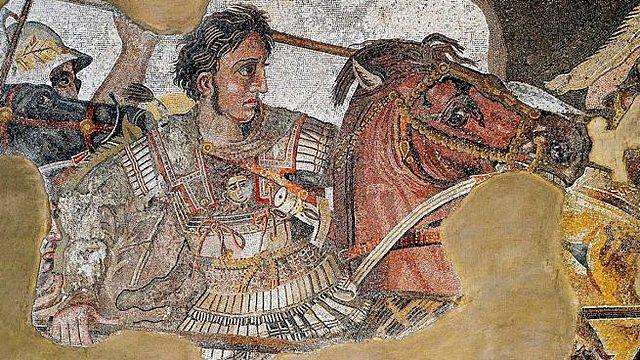 Alejandro Magno rey de Grecia