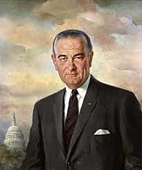 Lyndon B Johnson defeats Barry Goldwater