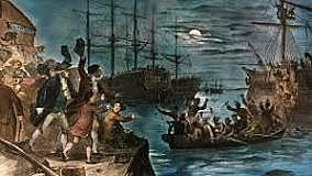 british surrender boston