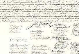 the declaration of independance is signed