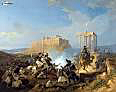 Start of the Greek war for Independence