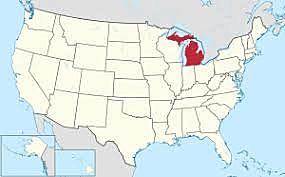 Michigan admitted a state