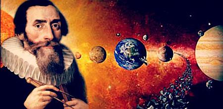 Kepler explica el movimiento de los planetas.
