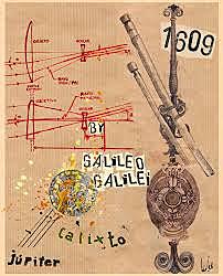 Galileo Galilei descubre los satélites de Júpiter.