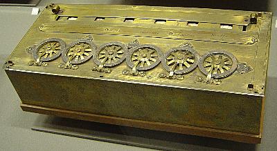 Pascal construye la primera calculadora.