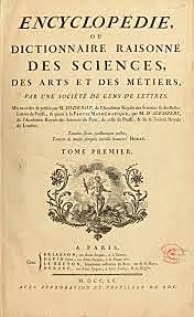 Primer volumen de La Enciclopedia.