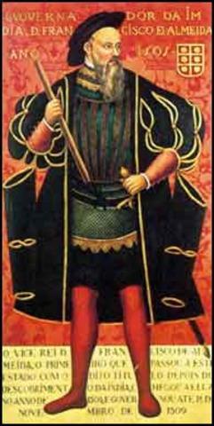 Portuguese viceroy Francisco de Almeida