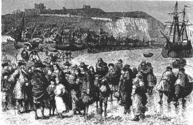 Huguenots flew from France