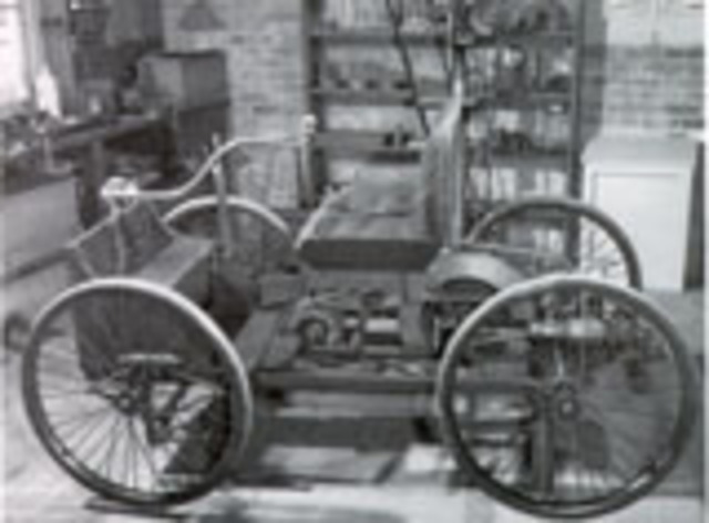 the first Quadracycle