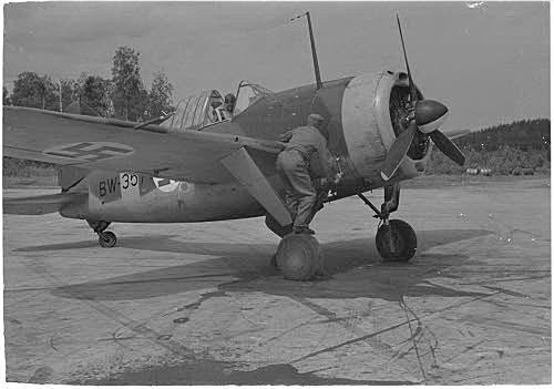 Valokuvauksia BW-koneella Valkeasaari-Lempaala