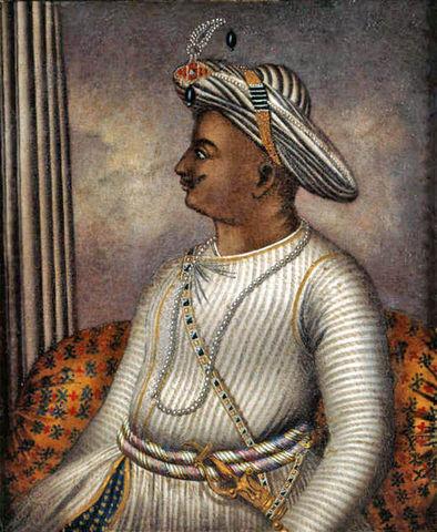 The Sultan of Mysore, India declares war on the British