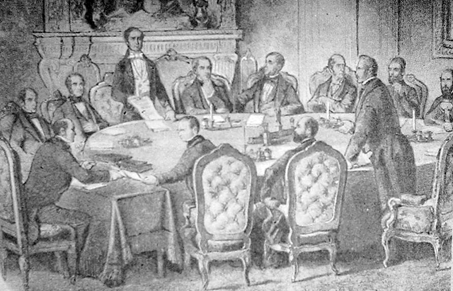 The Treaty of Paris is signed ending the war.