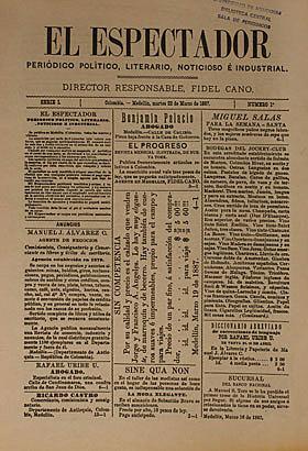 Periódico El Tiempo y El Espectador