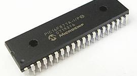 Linea del tiempo de los microcontroladores. timeline
