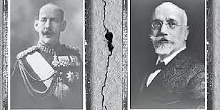 Διαφωνία Βενιζέλου - βασιλιά Κωνσταντίνου για τη συμμετοχή της Ελλάδας στον πόλεμο.