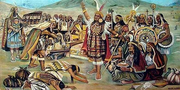 Conquesta de l'Imperi inca