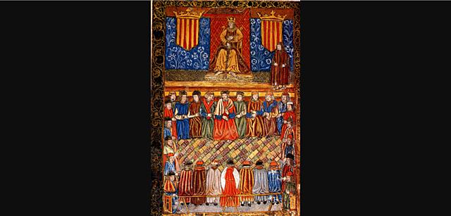 Primera reunió de les Corts catalanes de Carles I