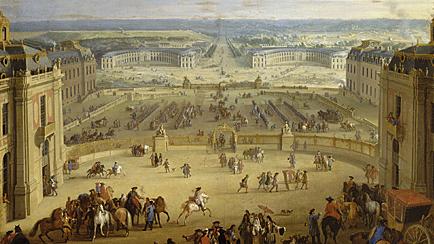 Trasllat de la cort francesa a Versalles