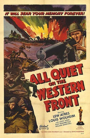 """""""All Quiet on the Western Front"""""""