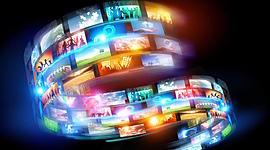Evolución de la Multimedia (1945 -2020) timeline