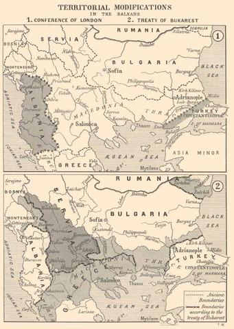 Second Balkan War/Ottoman Empire Destruction