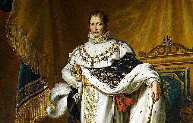 Napoleón asigna como rey de España a José Bonaparte