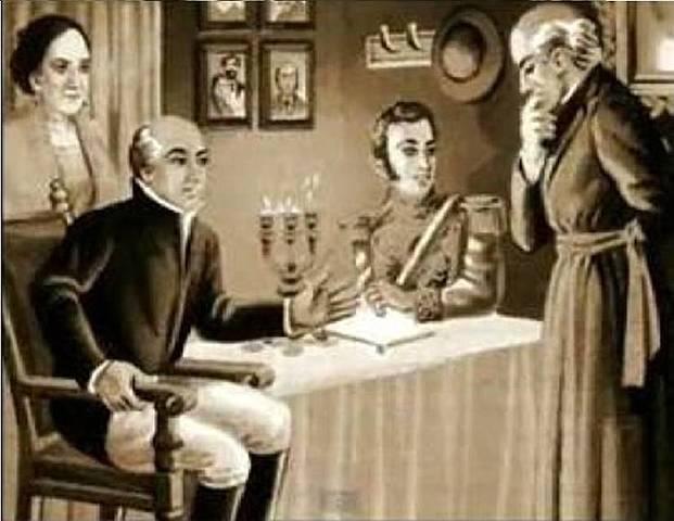 Aldama y Pérez llegan al curato de Dolores.
