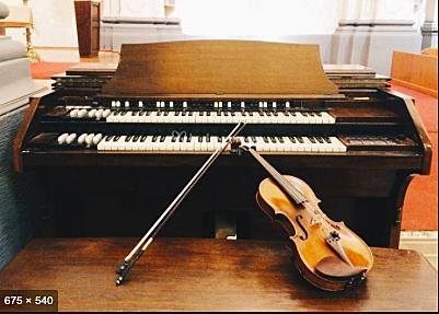 El organo y el violin