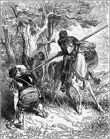 Don Quijote de la Mancha Capitulo 4