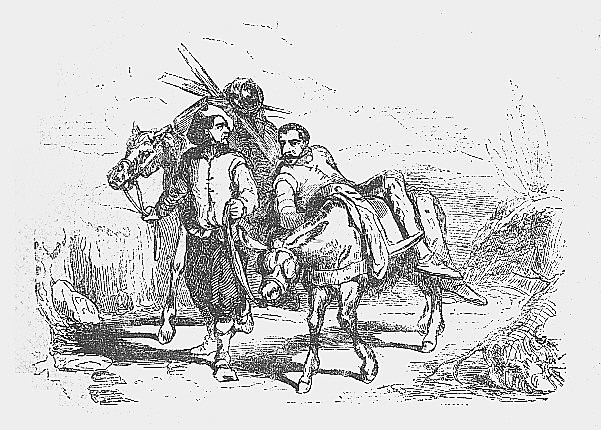 Don Quijote de la Mancha Capitulo 5